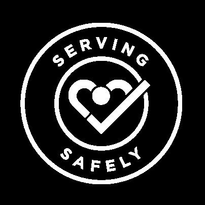 Serving Safely Logo