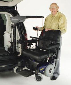 Boon Lift for wheelchairs and scooter