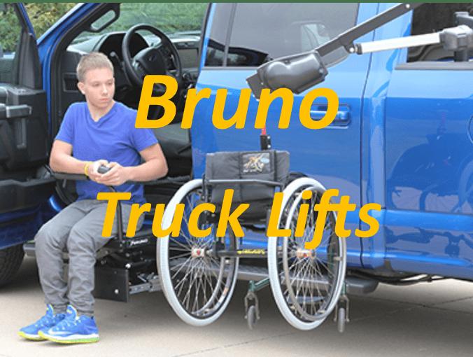 a man using a truck lift