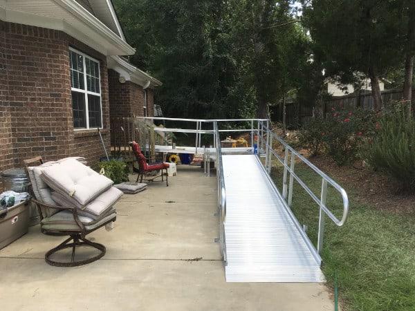 Modular Wheelchair Ramps