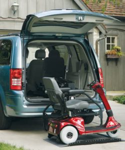Interior Wheelchair Lift for vehicles