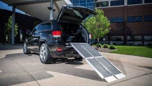 Tri-Fold Wheelchair Ramp