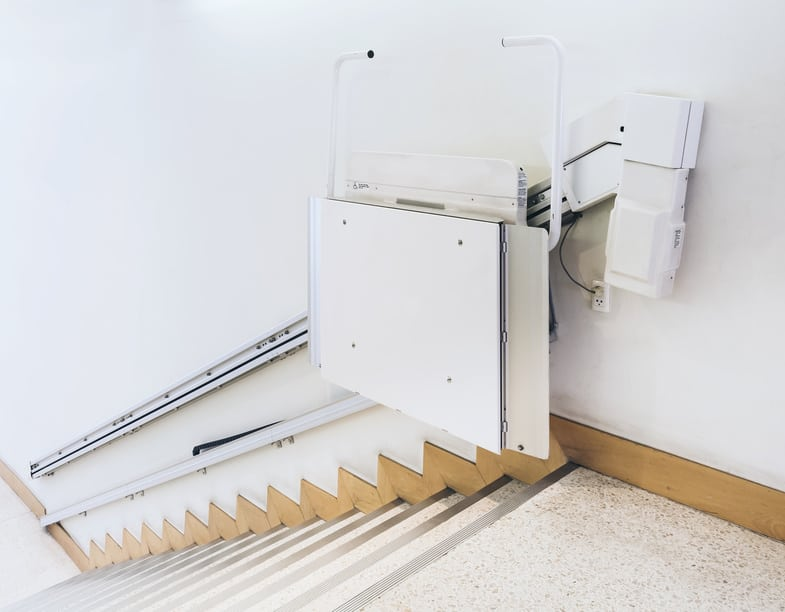a fitted stairlift