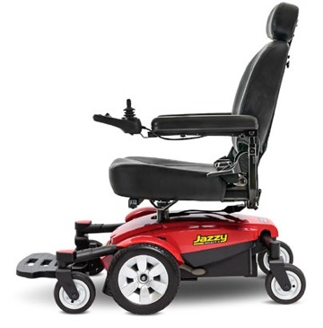 a motorized wheelchair