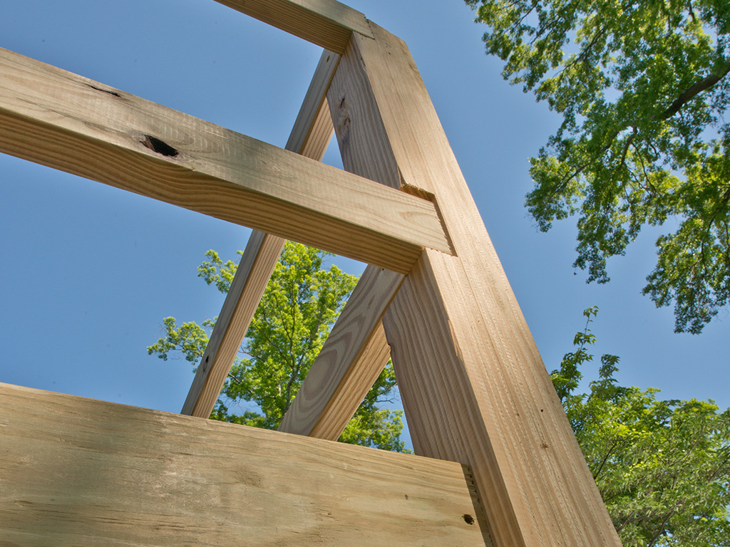 Wood Deck Ramp