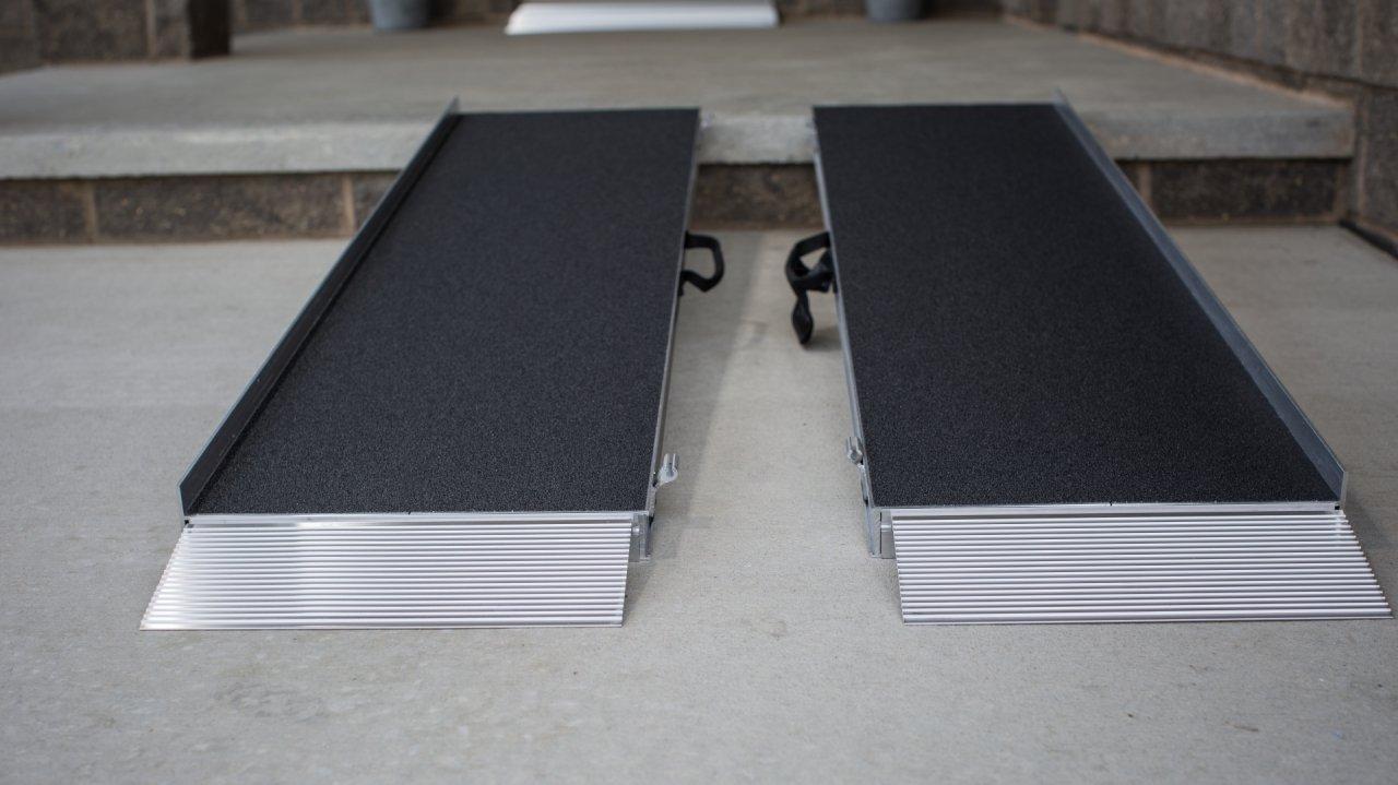two Singlefold Advantage Series Ramps