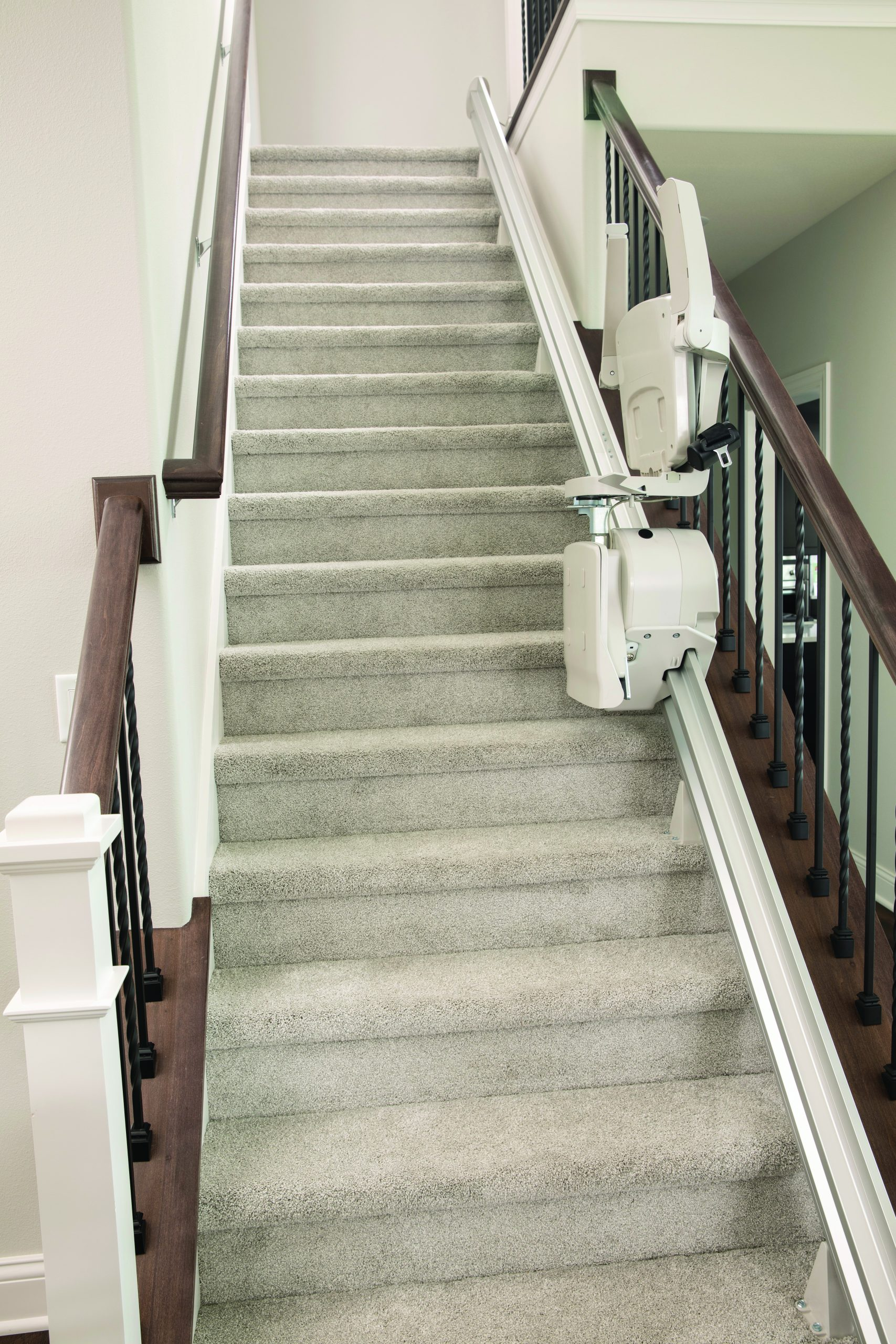 Bruno elan stair lift collapsed going up the stairs
