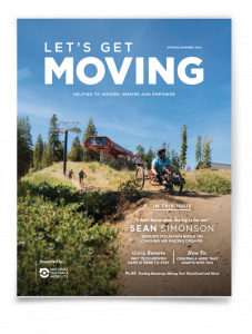 Let's Get Moving Magazine Cover