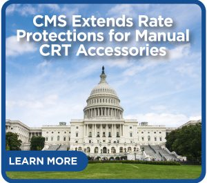 CMS extends rate protection for manual CRT accessories