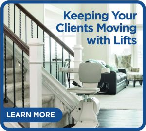 Keeping Your Clients Moving with Lifts