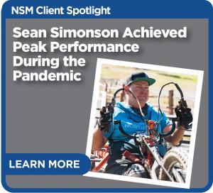 Sean Simonson achieved peak performance during the pandemic