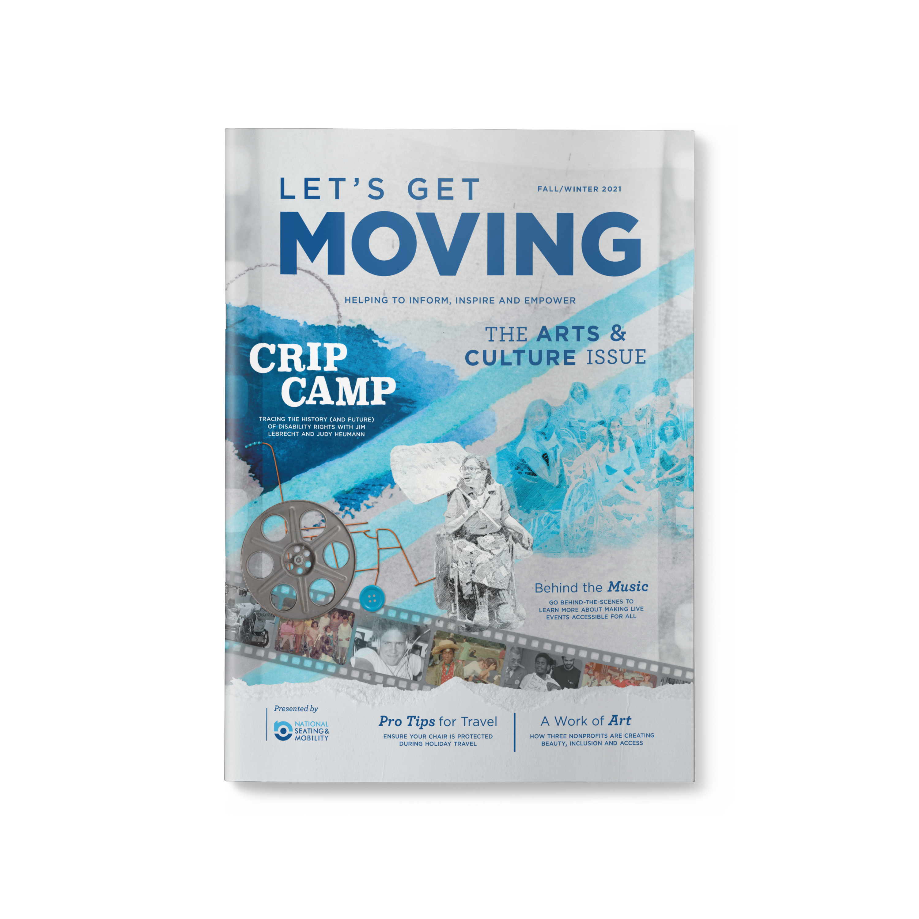 Cover of the Let's Get Moving Fall/Winter 2022 issue